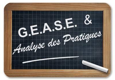 G.E.A.S.E. & Analyse des Pratiques